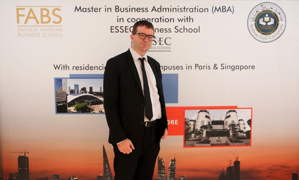 تعيين الفرنسي آرنود لشيري مديراً لإدارة الأعمال في جامعة الخليج العربي