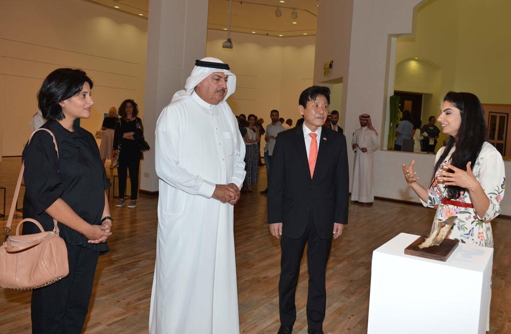 """معرض """"صُدف المسبك"""" يفتح أبوابه في مركز الفنون ويستمر حتى 28 سبتمبر،"""