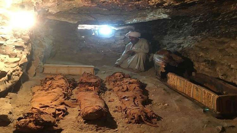العثور على كنز أثري فريد في مصر
