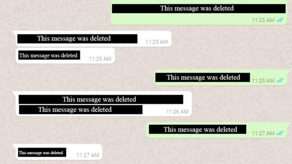 قريبا.. يمكنك حذف رسائل واتس آب قبل أن يراها المتلقي