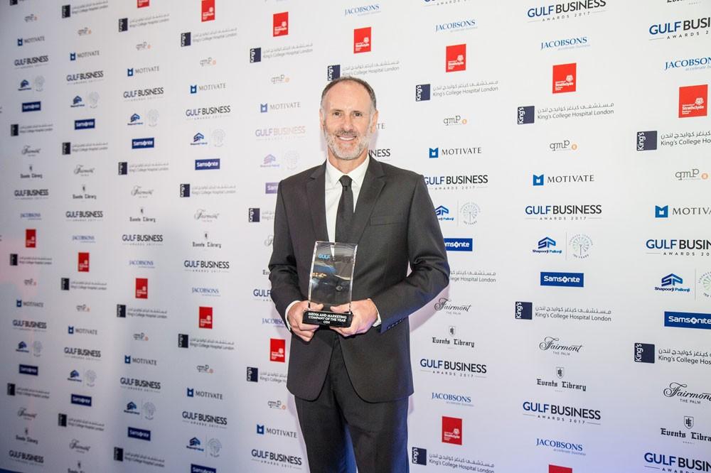 OSN تحصد جائزة أفضل شركة إعلام وتسويق