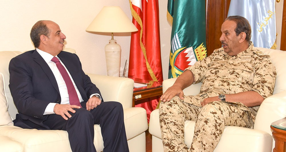 القائد العام يستقبل سعادة سفير المملكة الأردنية الهاشمية الشقيقة