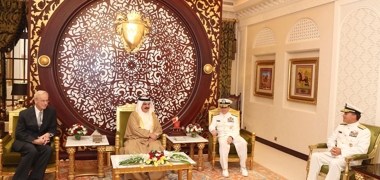 الملك: العلاقات البحرينية الأمريكية مبنية على الثقة والاحترام