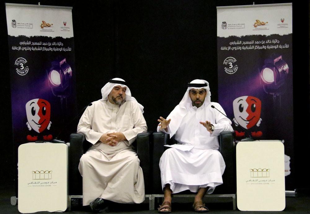 أحمد جاسم يستعرض دور المؤسسات في دعم المسرح الشبابي