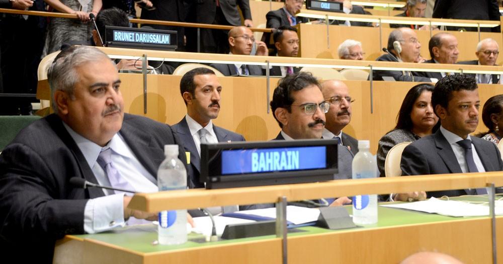 وزير الخارجية يشارك في الجلسة الافتتاحية للجمعية العامة للأمم المتحدة