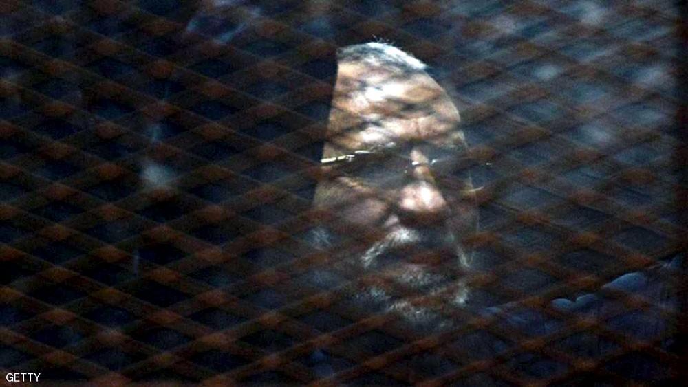 السجن المؤبد لمرشد الإخوان في مصر