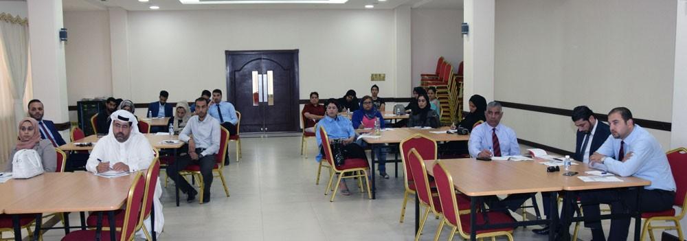 ورشة عمل لتعزيز ثقافة التزامات العامل والسلطة التنظيمية لصاحب العمل