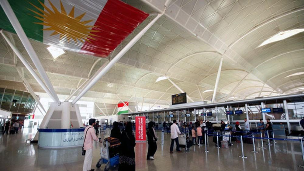 آخر رحلة جوية تغادر مطار أربيل مع بدء حظر فرضته العراق