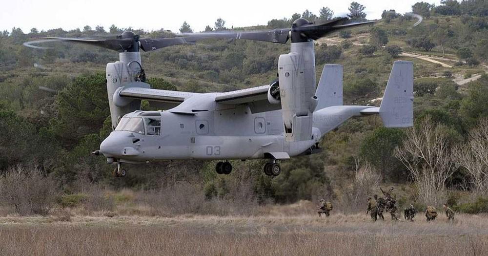 """هبوط """"عنيف"""" لطائرة عسكرية أميركية في سوريا"""