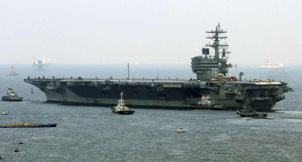حاملة طائرات أميركية.. بين خطر بيونغيانغ وترقب الصين