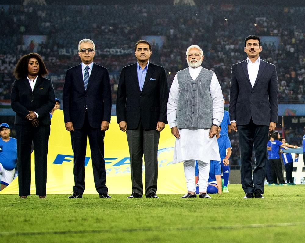 سلمان بن ابراهيم: واثقون بقدرة الهند على انجاح كأس العالم للناشئين