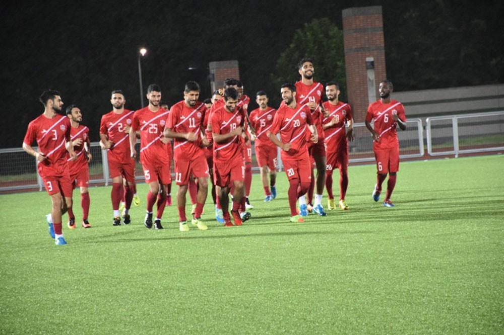 الأحمر يخوض الحصة التدريبية الرابعة على أراضي تايوان