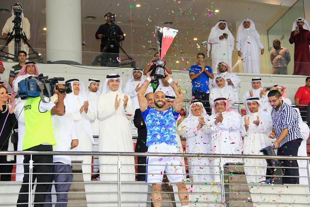 الجودر يتوج فريق النجمة بطلا لكأس السوبر البحريني الاماراتي لكرة اليد