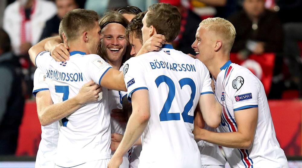 أيسلندا على بعد فوز واحد من التأهل لمونديال 2018