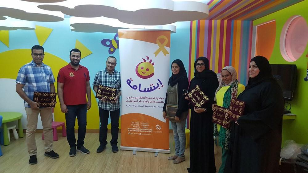 """25 طفلا مريضا بالسرطان يدرسون في برنامج """"أبجد"""""""