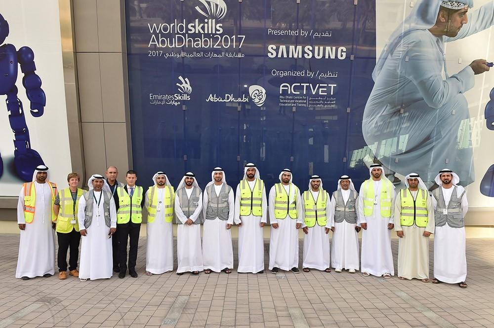أبوظبي تنهي استعداداتها لاستضافة مسابقة المهارات العالمية
