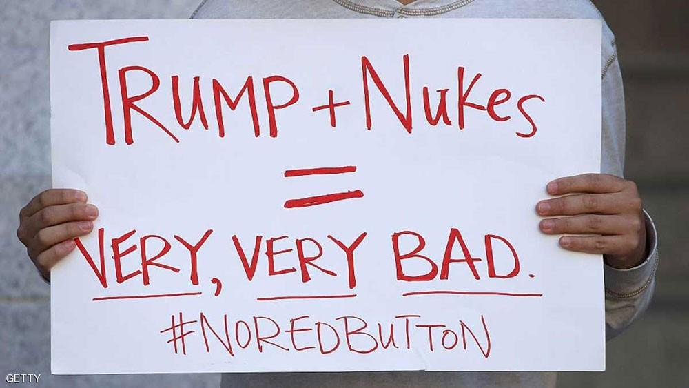 ترامب : القوة النووية الأميركية لابد أن تكون من الطراز الأول