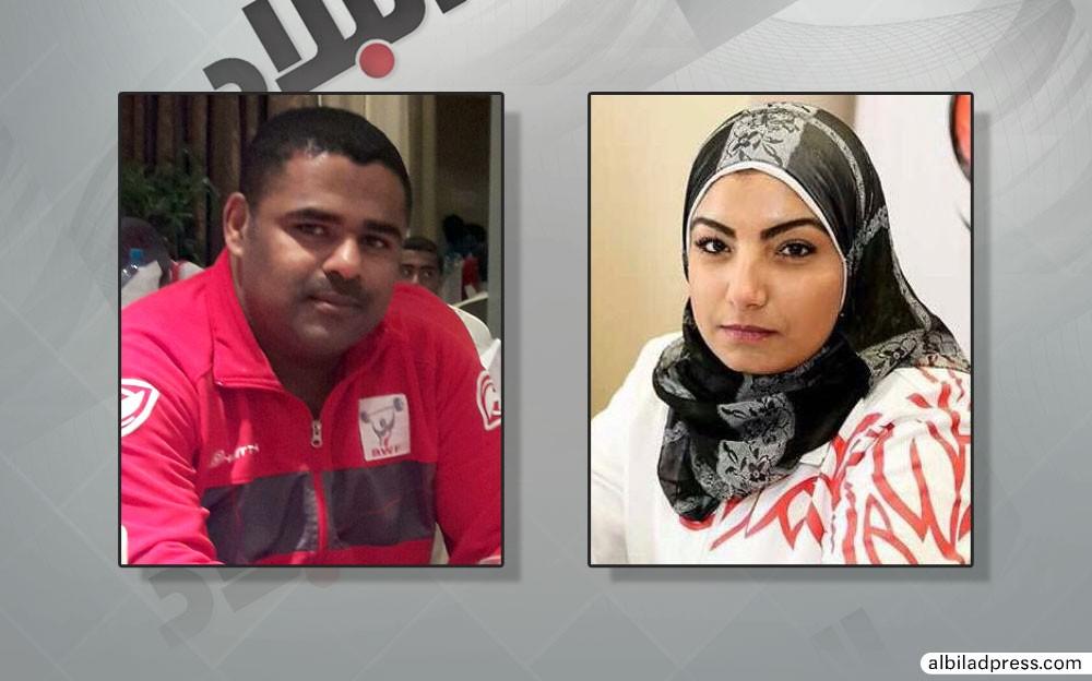 عبدالله وأميرة يؤكدان جاهزية المنتخب الرجالي والنسائي لرفع الأثقال