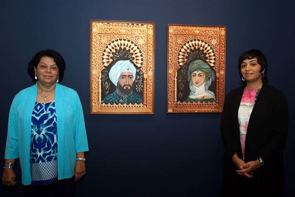 ثريا البقصمي تعرض أعمالها في متحف الشارقة للفنون