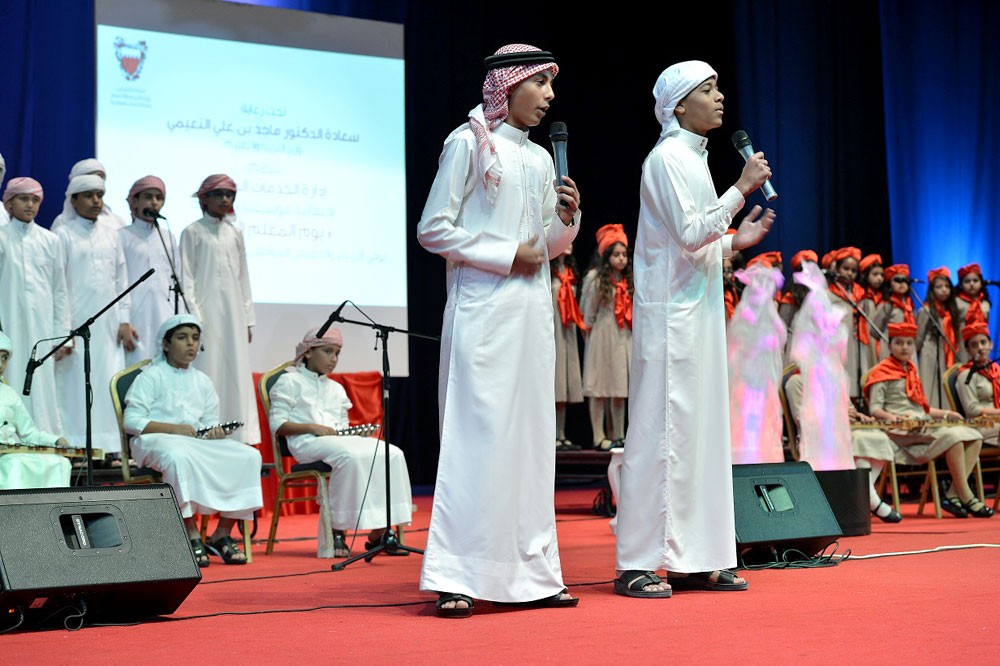 """""""التربية"""" تنظم احتفالية موسيقية بمناسبة يوم المعلم العالمي"""