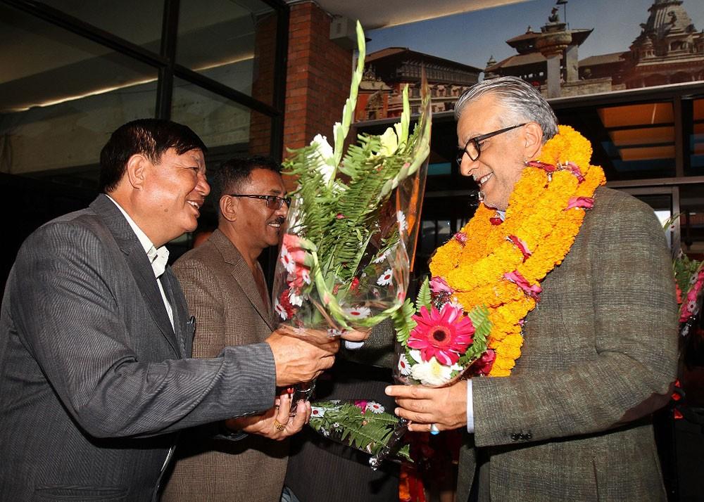 سلمان بن إبراهيم يشيد بحهود النيبال في مكافحة التلاعب بنتائج المباريات