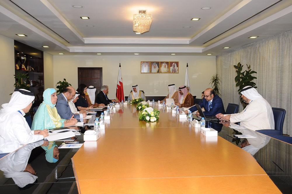 مجلس أمناء جامعة البحرين يعقد اجتماع دورة انعقاده العادية