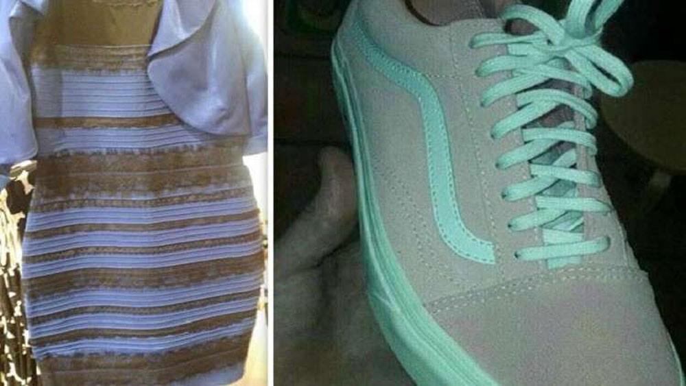 حذاء يعيد للإنترنت جنون الفستان الشهير