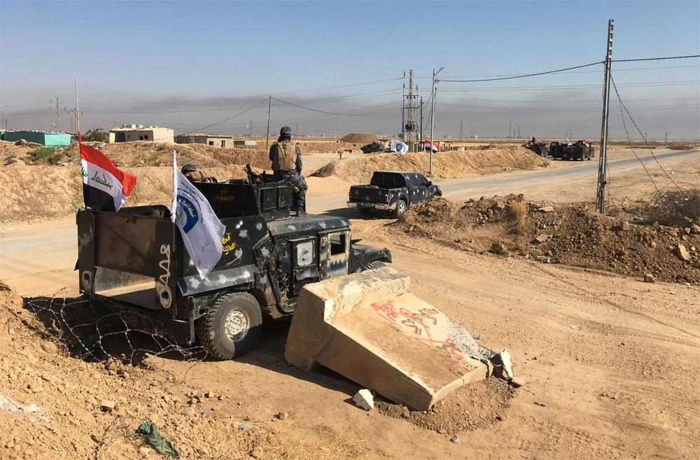 """الجيش العراقي يعلن إتمام """"فرض الأمن"""" في كركوك"""
