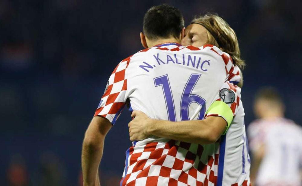 كرواتيا وسويسرا يقتربان من مونديال روسيا