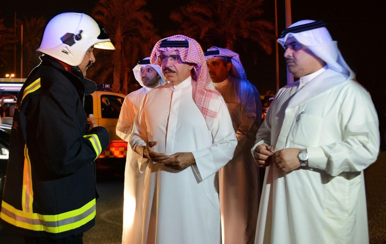 وزير الداخلية: حريق أنبوب النفط عمل إرهابي خطير