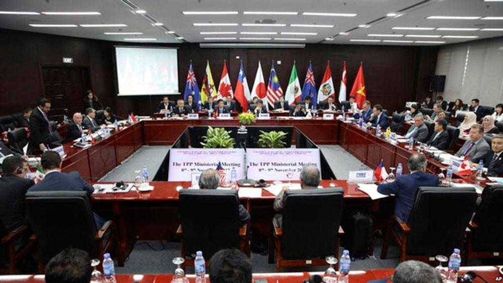 دول الشراكة عبر الهادي تتفق على خطوات لإنقاذ التجارة