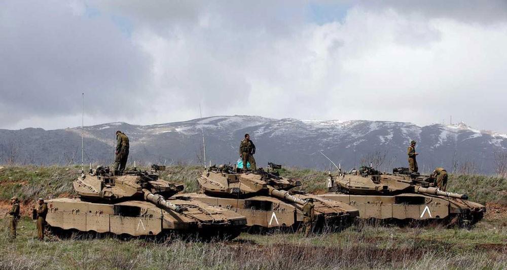 """إسرائيل تسقط """"درون روسية"""" فوق الجولان"""