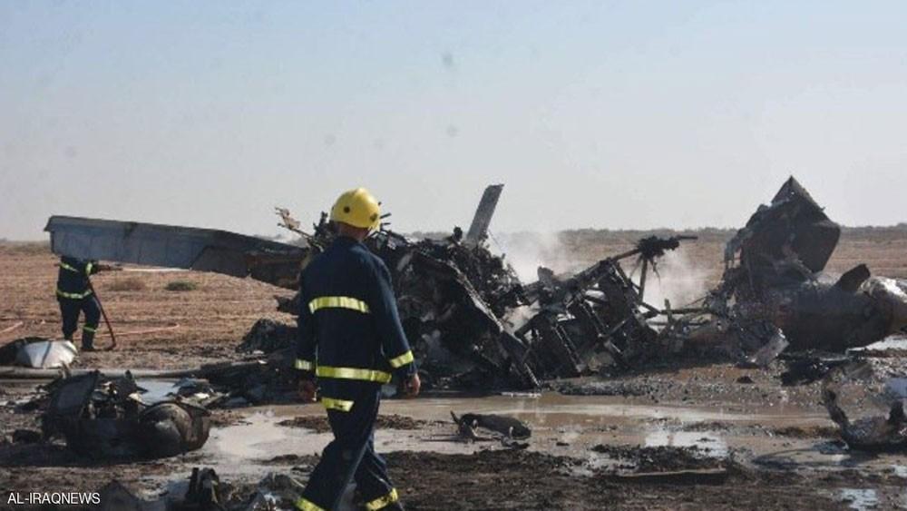 مقتل 3 طيارين بتحطم مروحية عراقية