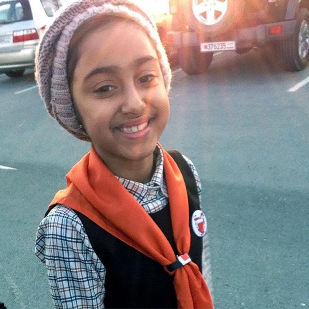 الطفلة البحرينية دانة تطلب دعمكم لها!