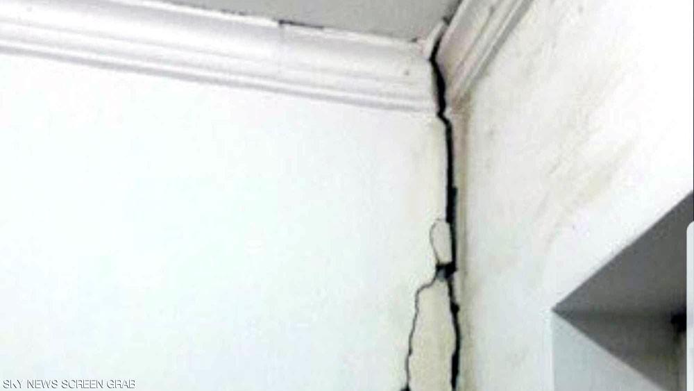 إخلاء مبنى في الكويت أصابه شرخ بعد الزلزال