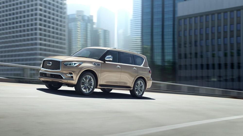 إنفينيتي تكشف عن QX80 الجديدة في دبي الدولي للسيارات