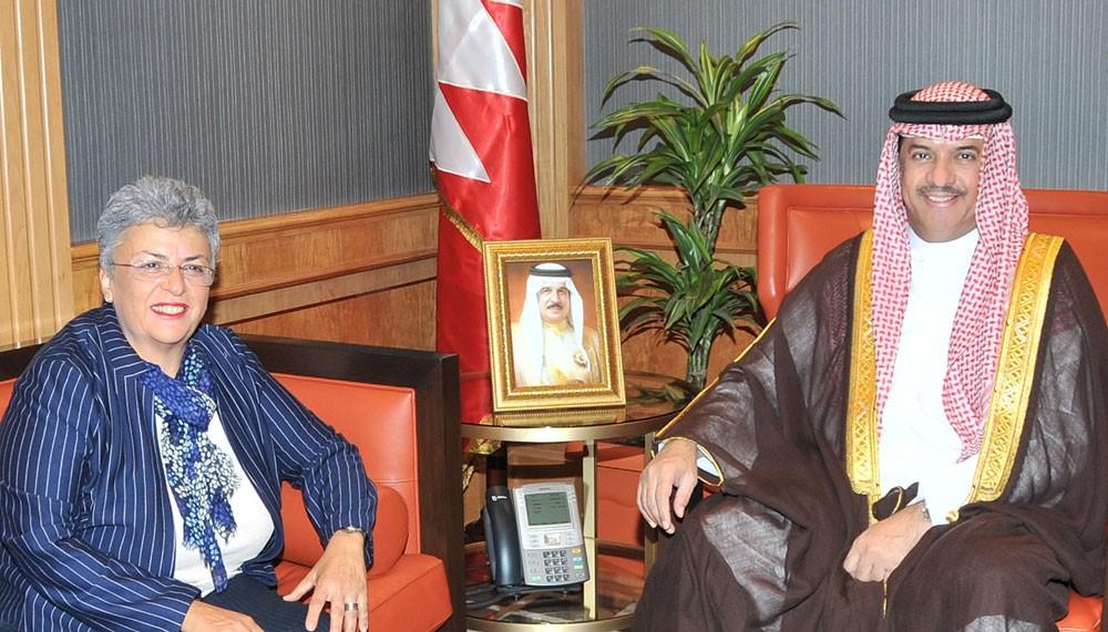 مساعد وزير الخارجية يستقبل رئيس المؤسسة الوطنية لحقوق الإنسان