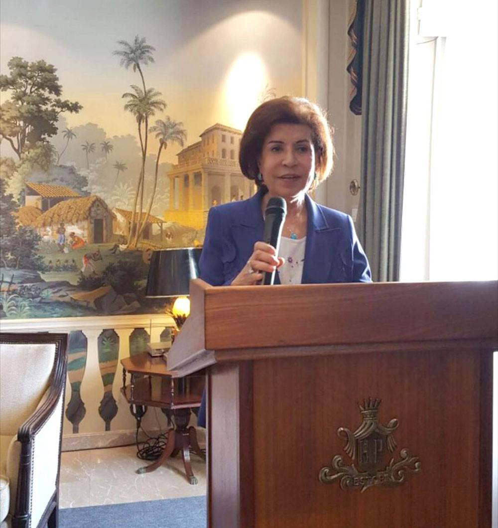 د.بهية الجشي تشارك في المنتدى الاقتصادي للمرأة بالبرتغال