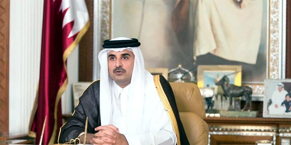 أمير قطر: علاقاتنا الدولية في تحسن