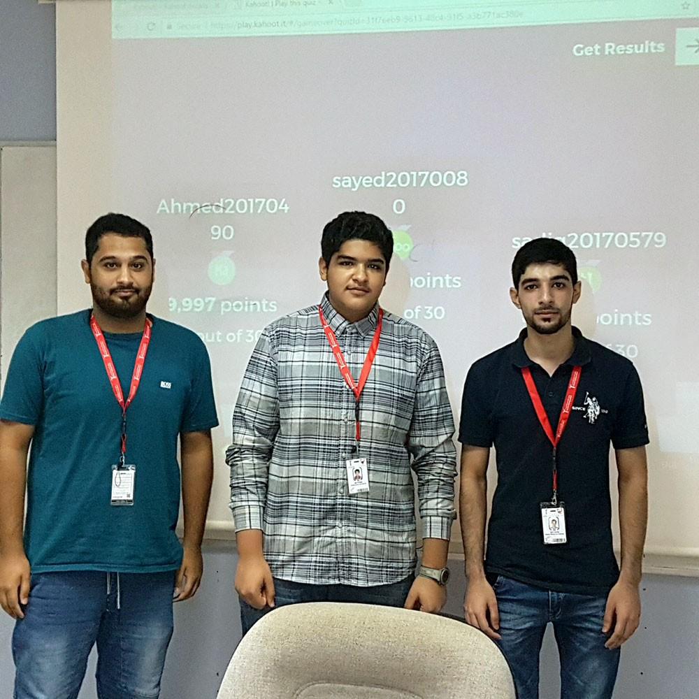 معهد البحرين للتدريب ينظم مسابقة في الرياضيات لمتدربيه