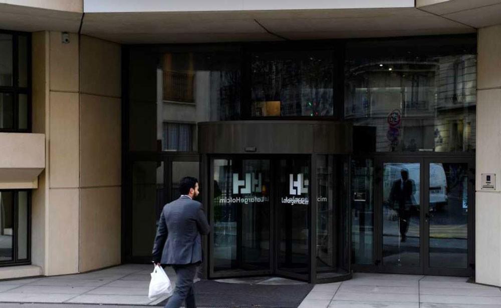 مداهمة مقار شركة أسمنت فرنسية مرتبطة بداعش