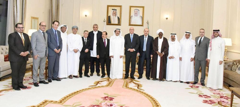 السفير الكويتي يشيد بالتسهيلات والخدمات التي تقدمها البحرين لأعضاء السلك الدبلوماسي