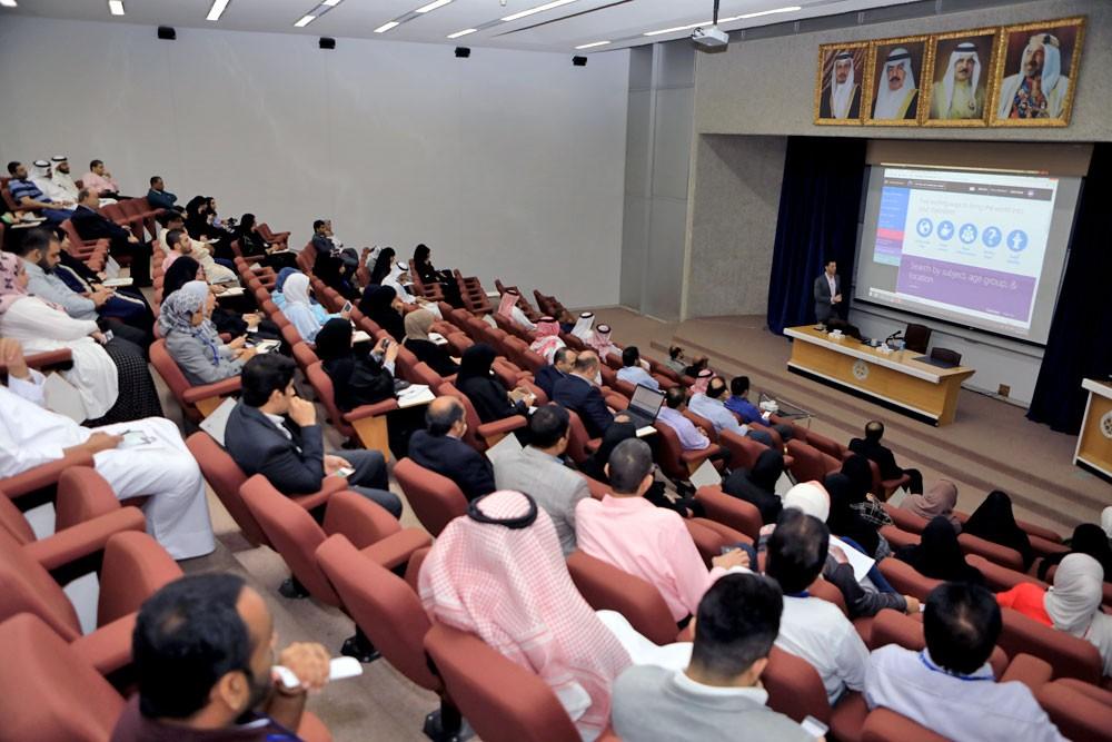 المنتسبون إلى جامعة البحرين يتعرفون خدمات مايكروسوفت 365 الجديدة