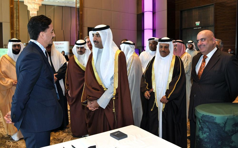وزير النفـط يفتتح مؤتمر الشرق الأوسط للتكنولوجيا المُحَفِّزة في الإنتاج