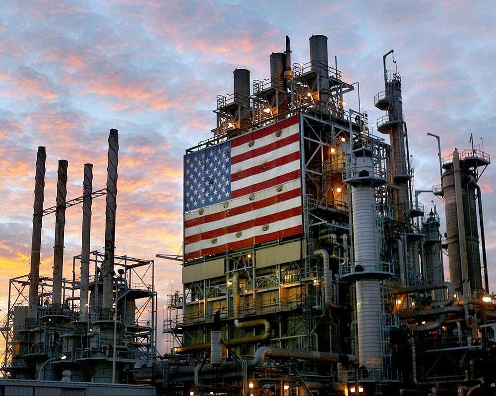 هبوط مخزونات النفط الأمريكية