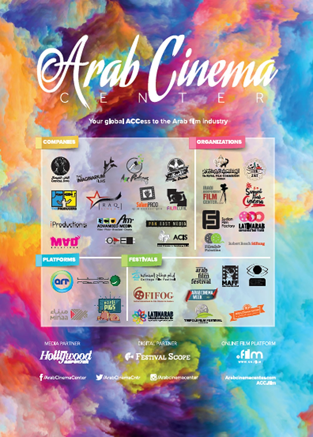 مركز السينما العربية ينطلق في مهرجان دبي السينمائي الدولي