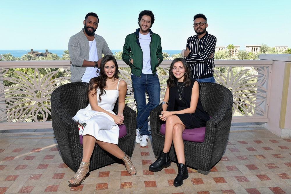 نجوم الغد يدعم خمسة من النجوم الشباب العرب