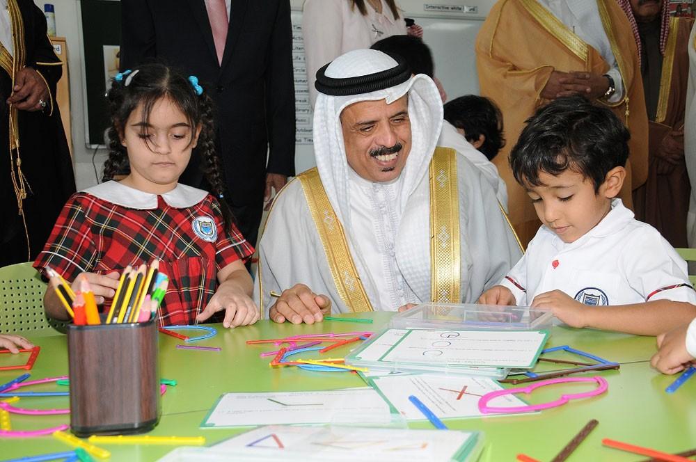 وزير التربية والتعليم يفتتح مدرسة نور الديار الخاصة
