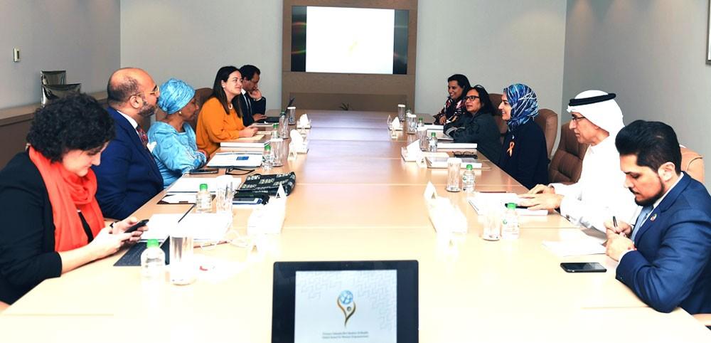 لجنة جائزة الأميرة سبيكة بنت إبراهيم آل خليفة العالمية لتمكين المرأة تعقد اجتماعاً تحضيرياً
