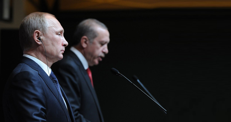 بوتن وأردوغان قلقان بشأن القدس